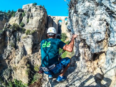 Via ferrata tour and breakfast in Tajo de Ronda