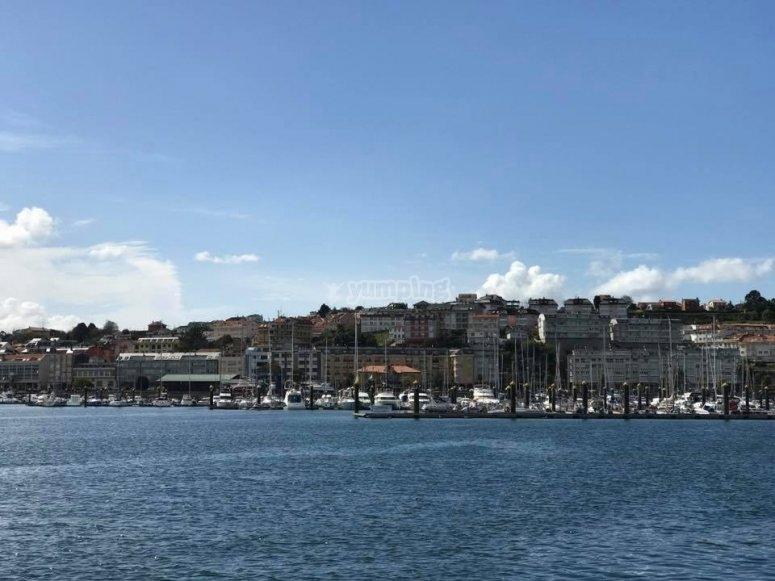 Navigation sur les côtes galiciennes