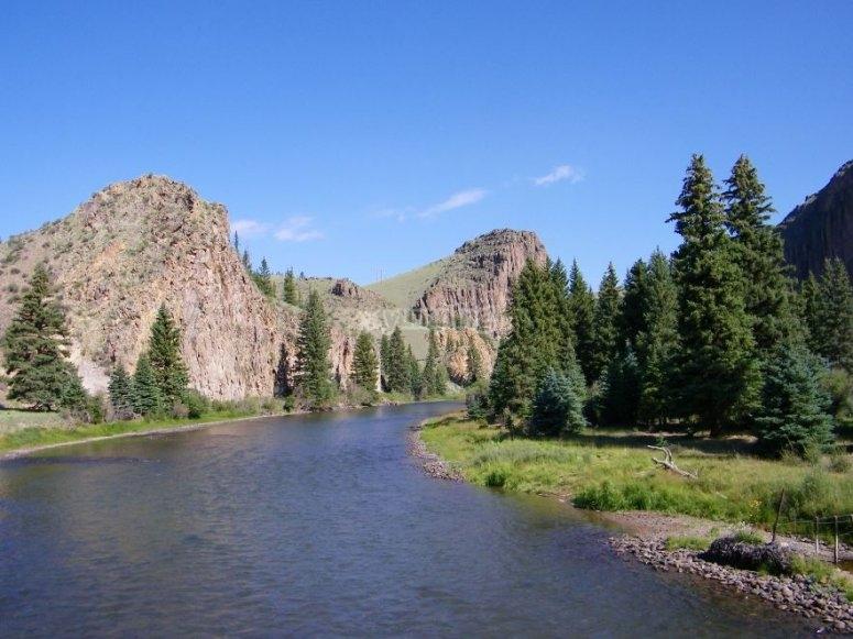 Vistas del río Grande