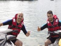Despedida soltero actividades acuáticas Barcelona