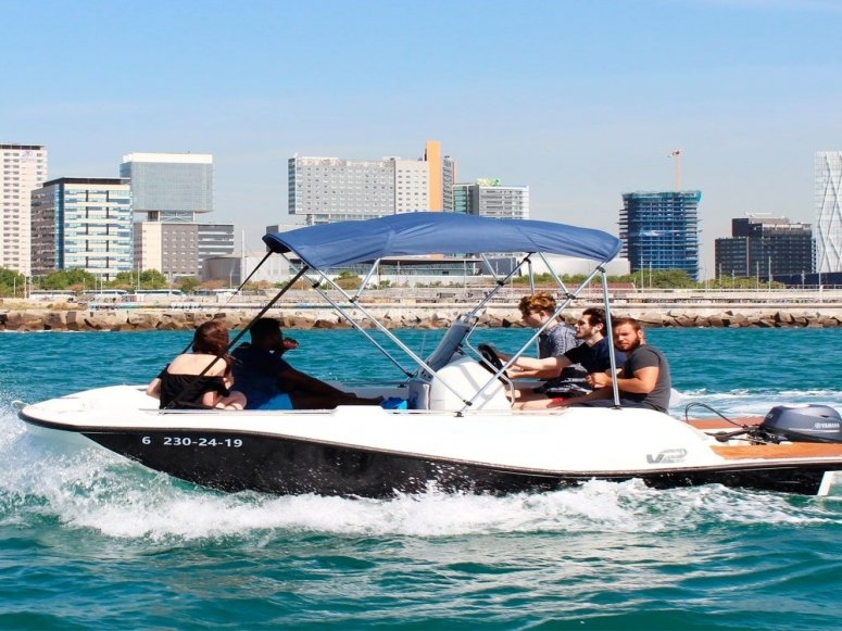 Barca senza patente Barcellona