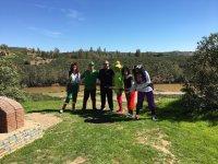 Themed trekking route at Sevilla, for kids