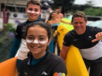 Surfing for families the Cantabria