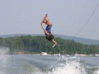 Piruetas de wakeboarding