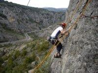 Escalada deportiva en Soria