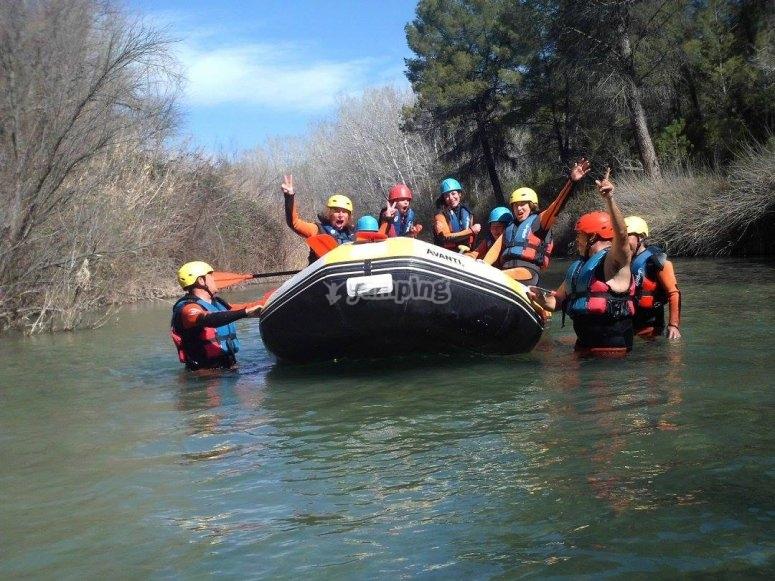 Amici sul fiume Cabriel