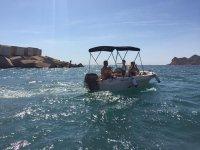 Navegando con la familia