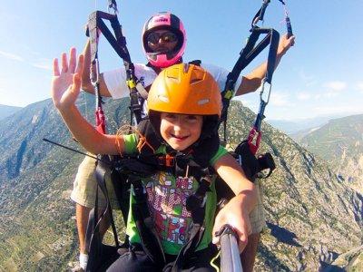 Organyà10h滑翔伞的启动课程
