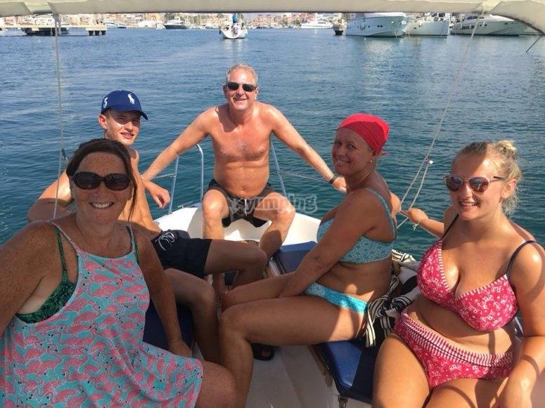 Ruta en barco familiar Torrevieja
