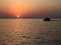船上最好的日落