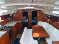 Sala da pranzo della barca