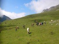 Practica senderismo en Cantabria