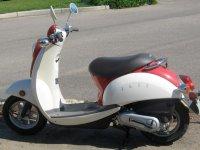 una de las scooter