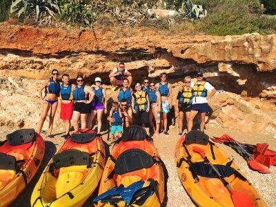 Excursión guiada en kayak para niños en Valencia
