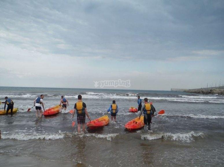 Kayaks de gran estabilidad