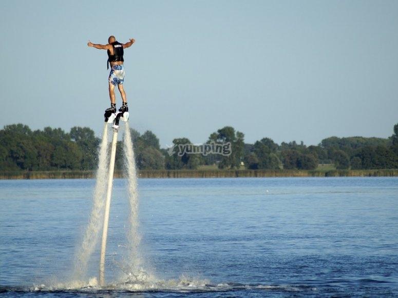 Flyboard很有趣