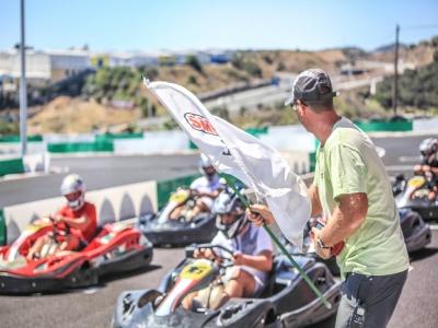 Gran Premio de karting en Estepona para grupos