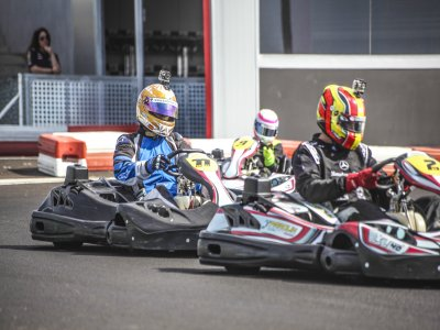 Karting junior en Estepona 2 tandas