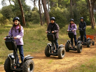 Ruta bosques de Mataró en segway y desayuno 2h