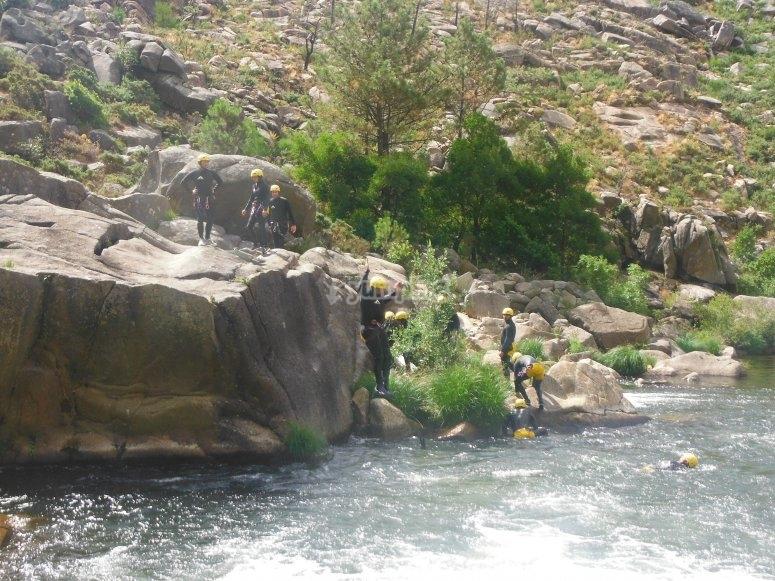 River jumps