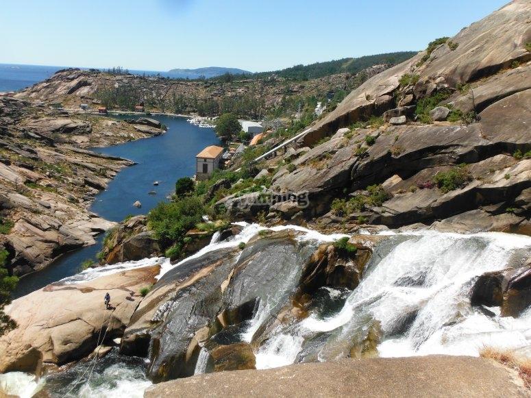 Monte Pindo river