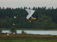Volar en ultraligero