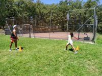 Practicando deportes al aire libre