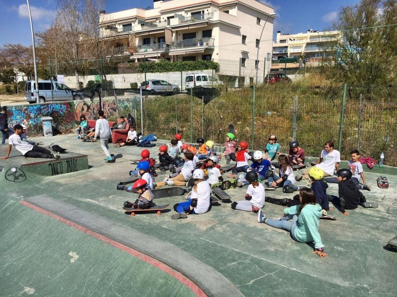 Clases en pistas de skateboard