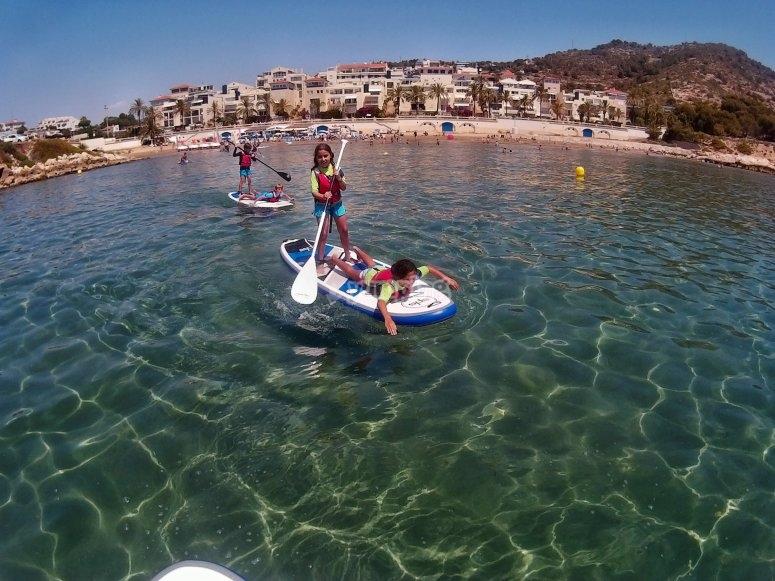 Stand up paddle en Aiguadolç