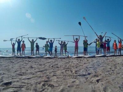 在Aigüadolç海滩划桨冲浪课程,2小时