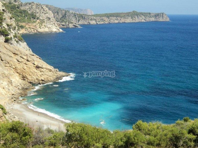 Coll Baix海滩