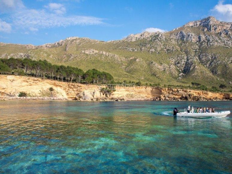 巴利阿里群岛海岸景观