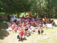 Nuestro campamento en Cáceres