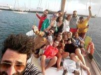 fiestas en el barco