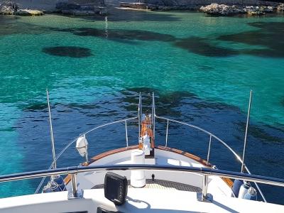 Paseo en barco con patrón por Mallorca temp. media
