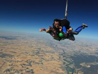 Getting closer to the ground while opening the parachute