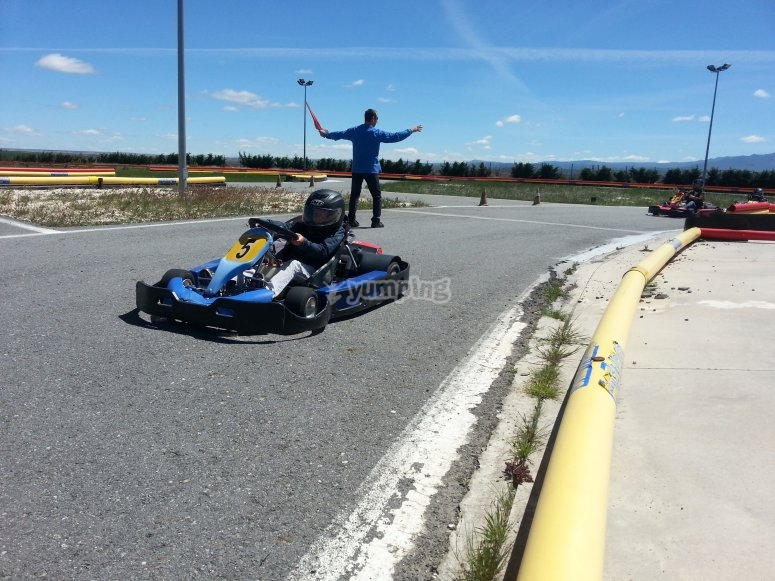Karting a Fresno de la Fuente