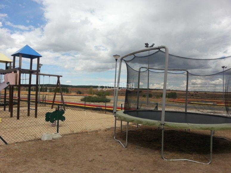 Parco giochi a Fresno de la Fuente
