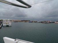 Saliendo del puerto