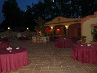 Catering para eventos por la noche