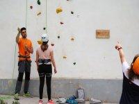 Imparare ad arrampicare