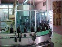 embotelladora de botellas de vino