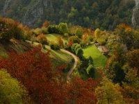 Parque Natural durante el otoño