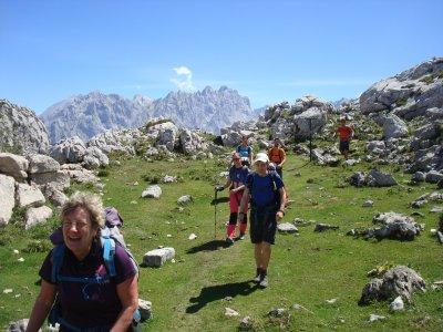 Senderismo en el Anillo de Picos Macizo Occidental