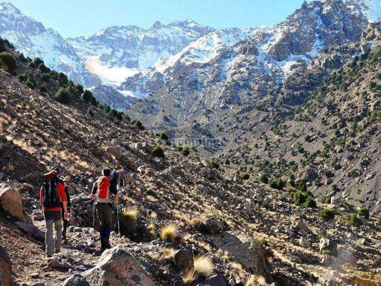 Pico mas alto del norte de Africa