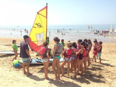 Sailing in Huelva for schoolar groups