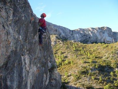 Vía Ferrata Tormo de la Margarida in Tivissa Easy