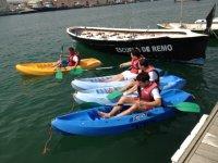 Navegar en kayak en Valencia