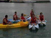 piraguas y kayaks