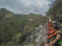 Barranco Garganta Verde en Sierra de Grazalema